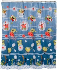 Spongebob Squarepants Shower Curtain - Cool Stuff to Buy ...