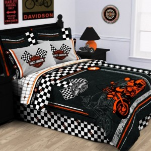 Harley Davidson Bedding  Cool Stuff to Buy and Collect