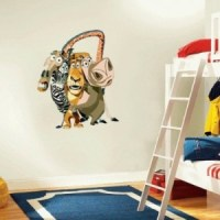Madagascar Wall Decal - Cool Stuff to Buy and Collect