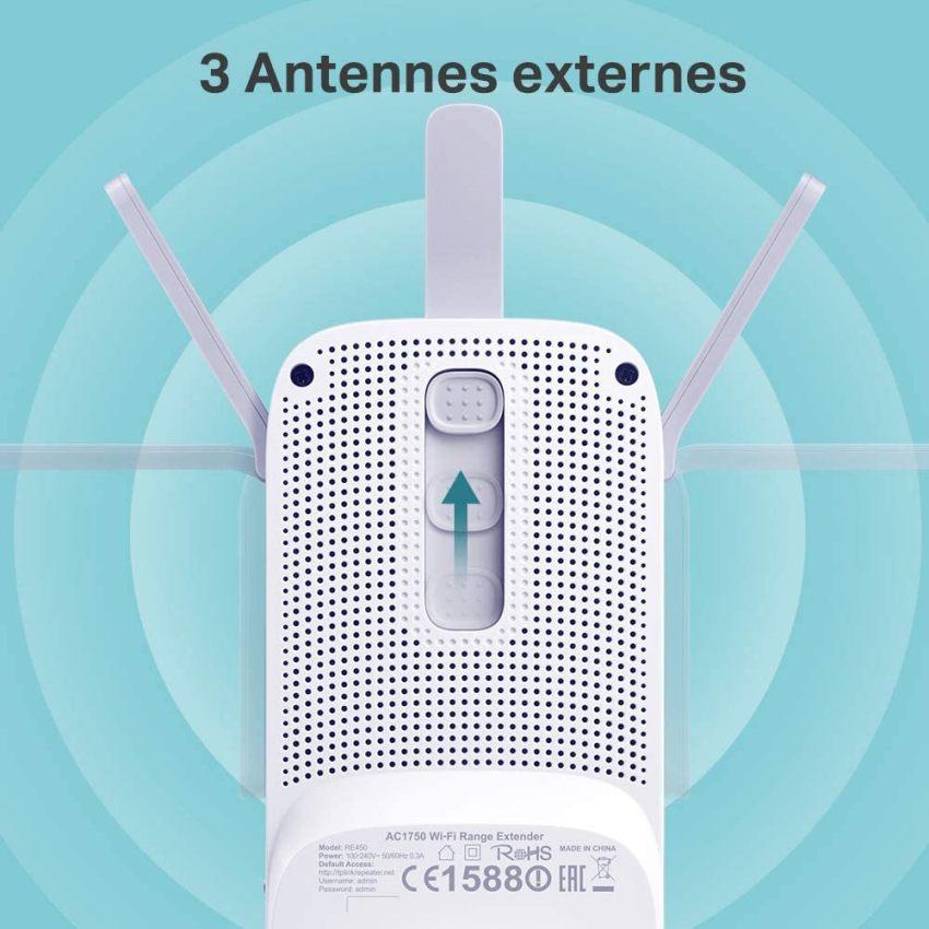 TP-Link Répéteur WiFi, Amplificateur WiFi