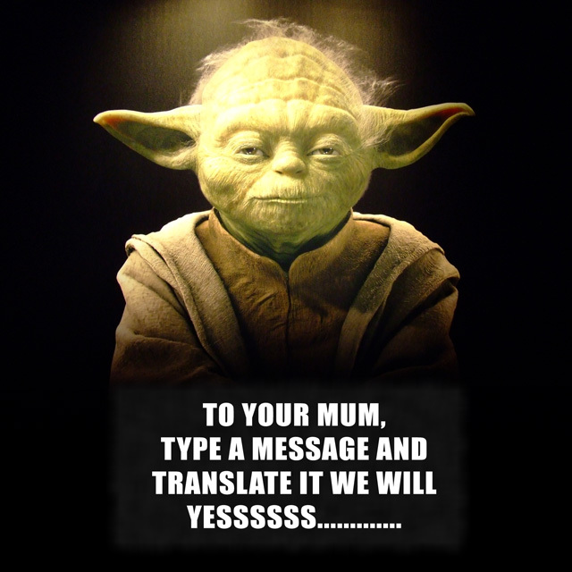 Customised Mother's Day Yoda Print Happy Mothers Day Mum