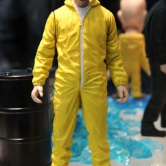Yellow Wheelchair Black And White Striped Accent Chair Walter Jesse Pinkman Action Figures, Merchandise