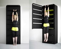 Lucie Koldovs Fitness Furniture Turns Closet, Table Into ...
