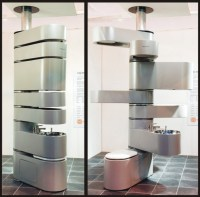 Vertebrae Puts Your Bathroom Fixtures In A Space-Saving ...