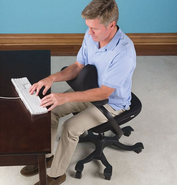 posture chair work nursery target optimal office keeps you from slouching at