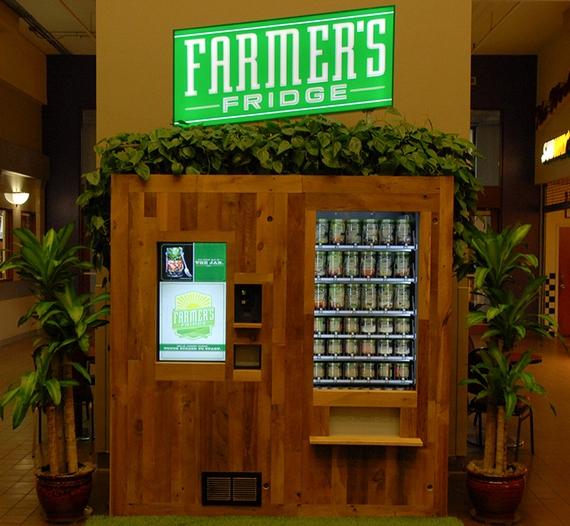Farmers Fridge Vending Machine