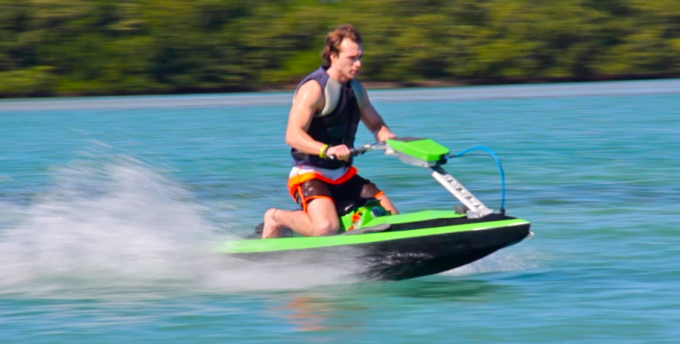 BomBoard Is A Compact Modular And Affordable Jet Ski