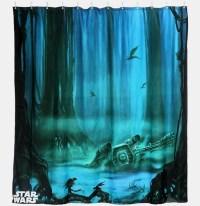 Dagobah Shower Curtain