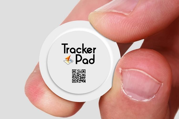 TrackerPad GPS Sticker