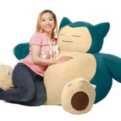 What Size Bean Bag Chair Do I Need Swing Dublin Pokemon Snorlax Review In Giant Or Full