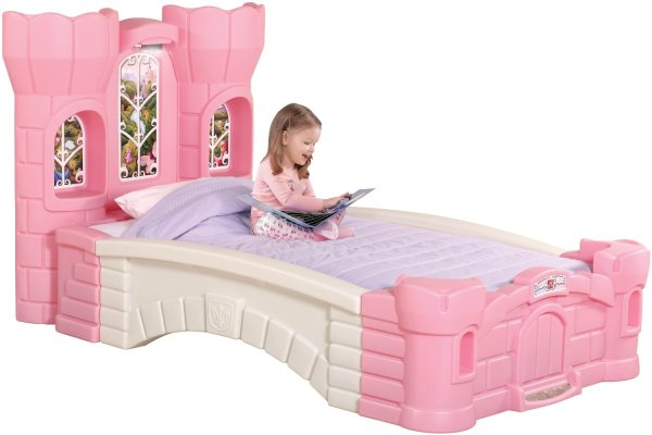 Step2 Princess Palace Twin Bed - Perfect Little Girls