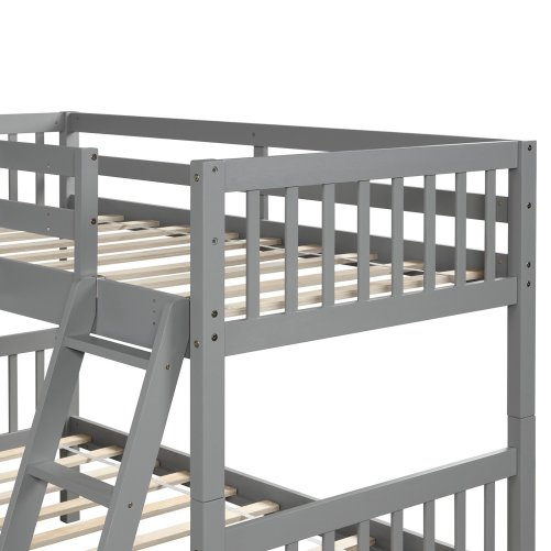 L-Shaped Bunk Bed Twin Size 7