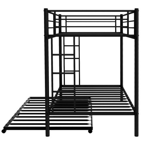 Twin Over Twin Bunk Bed With Trundle