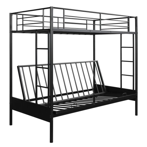 Twin over Full Metal Bunk Bed, Multi-Function 3