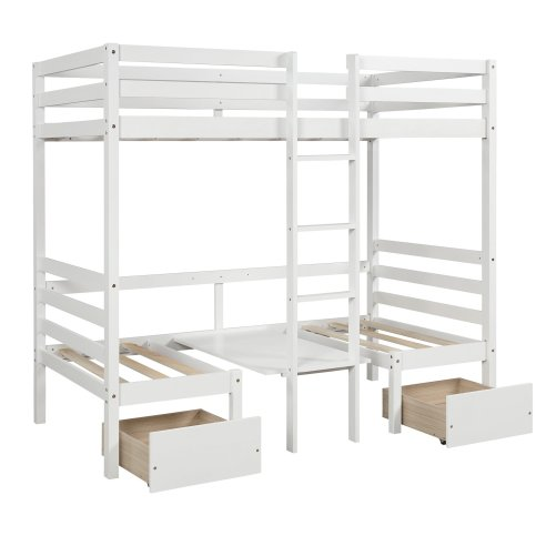 Functional Bunk bed , twin size 14