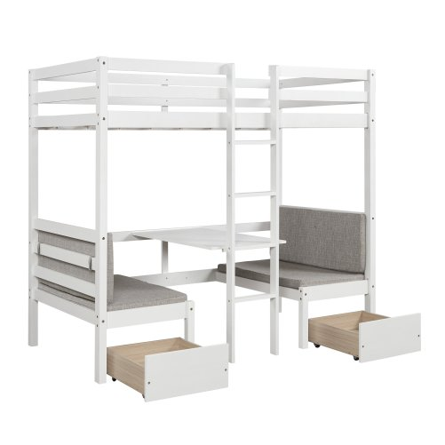 Functional Bunk bed , twin size 12