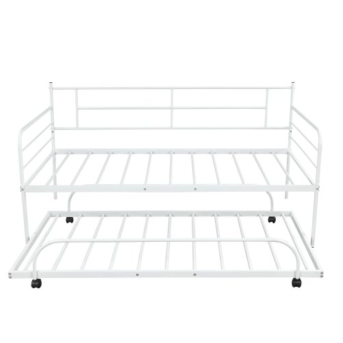 Metal Daybed with Trundle 20