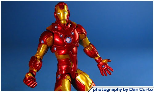 COOL TOY REVIEW Marvel Universe Photo Archive Iron Man Bleeding Edge Armor