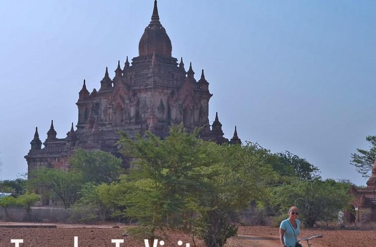 temples to visit in Bagan