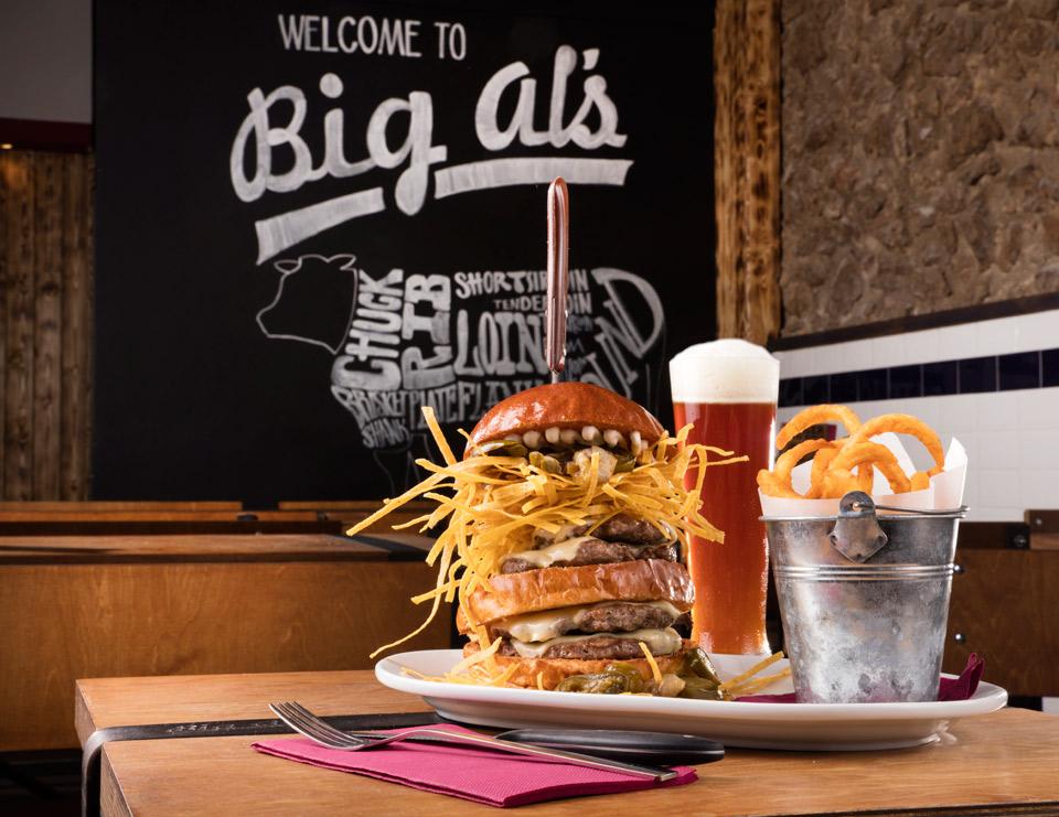 Big Al's American Kitchen | Comida 100% americana