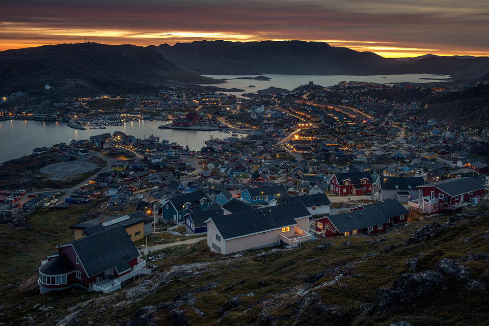 Qaqortoq, fotografía por Mads Pihl y Visit Greenland