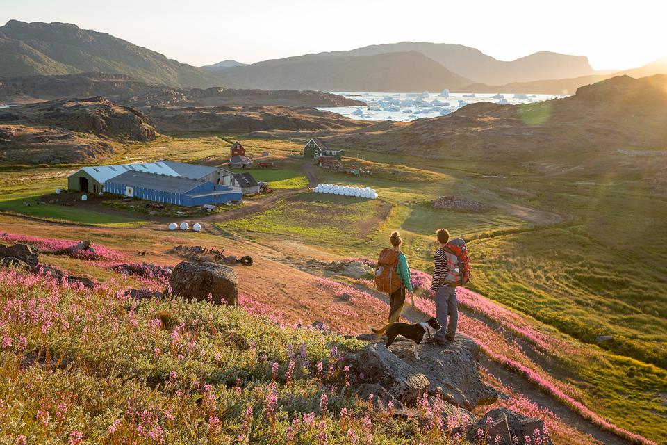 Tasiusaq, fotografía por Mads Pihl y Visit Greenland