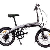 Kawasaki Folding 20 | La bicicleta ecológica que revoluciona la forma de moverte