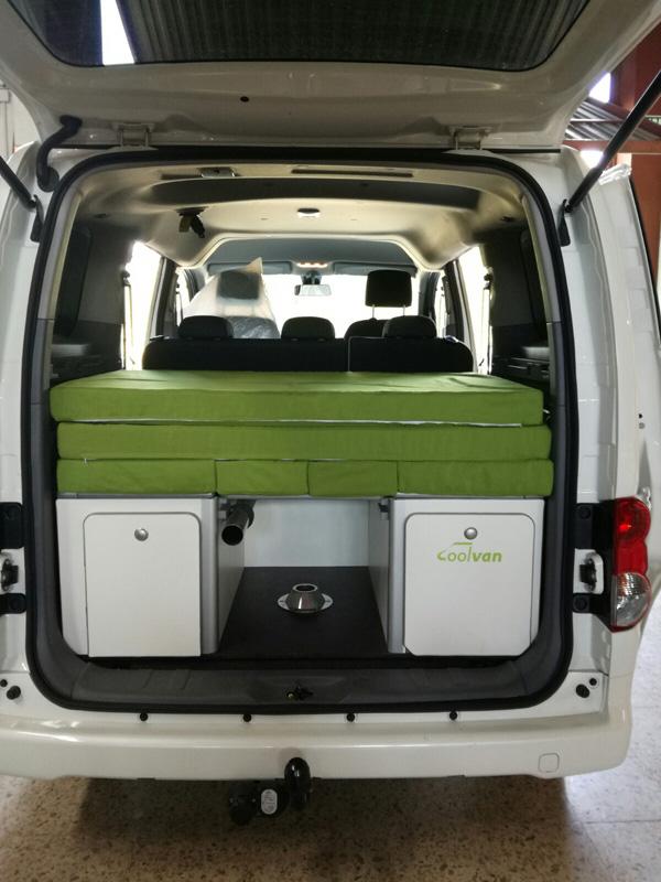 Blog  Coolvan  Mueble cama para Nissan Evalia NV200