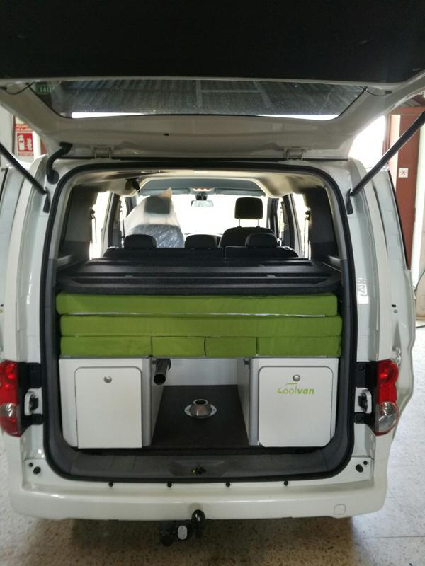Mueble Cama Nissan Nv200