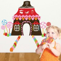 Candyland Wall Decals - c Wall Decal