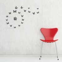 Wall Decal Clock - cool wall decals on pinterest | wall ...