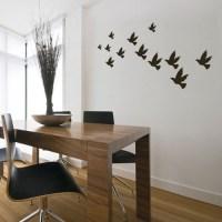 bird wall decals 2017 - Grasscloth Wallpaper