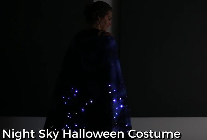 diy night sky halloween