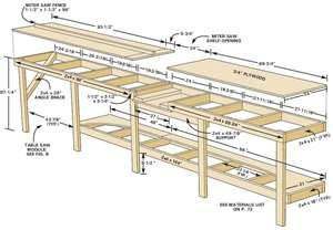 woodworking plans bench