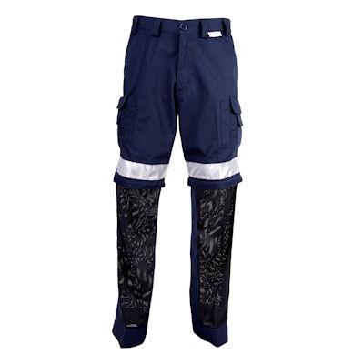 vis ventilated pants navy cw2-nvra