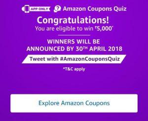 Amazon Coupons Quiz
