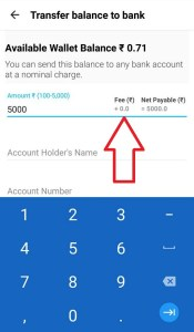 How to Transfer Paytm Money To Bank in 0% Charge