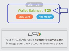 (Loot) YesPay App-Create UPI And Get Instant Free Rs.20 In Bank Account