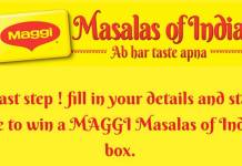 Paytm Maggie Contest- Register & Chance To Get A Maggie Gift Hamper Free(10K Winners)