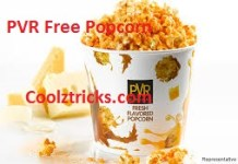 (PVR Loot) :- Get Free 10 Regular Pop Corn worth Rs 1500 (Proof Added)