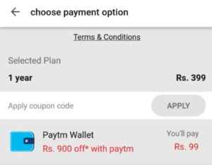 Get gaana+ Premium Subscription Of 1 Year In Just Rs.99 With PayTM