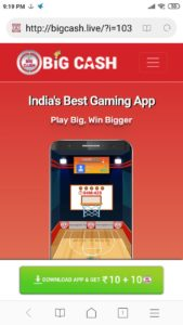 Loot) BigCash App – Refer & Earn Unlimited Instant PayTM