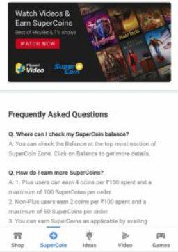 Flipkart Free Supercoins Loot