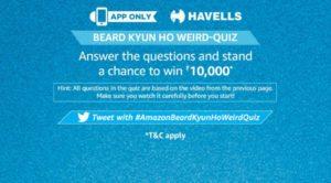 Amazon Havells Quiz Answers