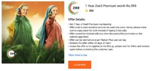 ZEE5 Free Premium Subscription