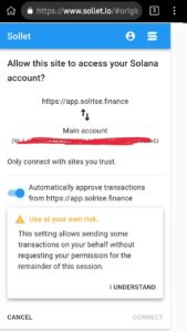 DAWN Solrise Finance Airdrop