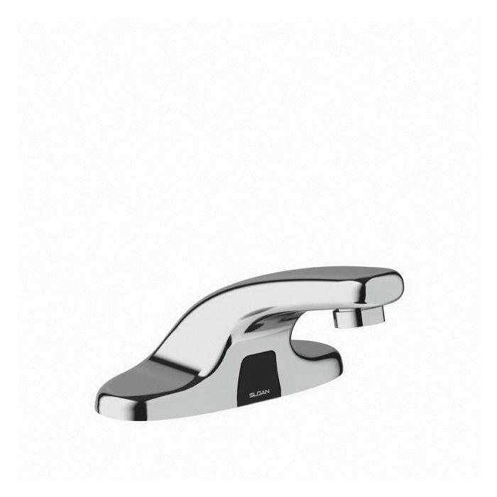 sloan 3315183bt ebf 650 electronic sensor activated faucet optima polished chrome 0 5 gpm