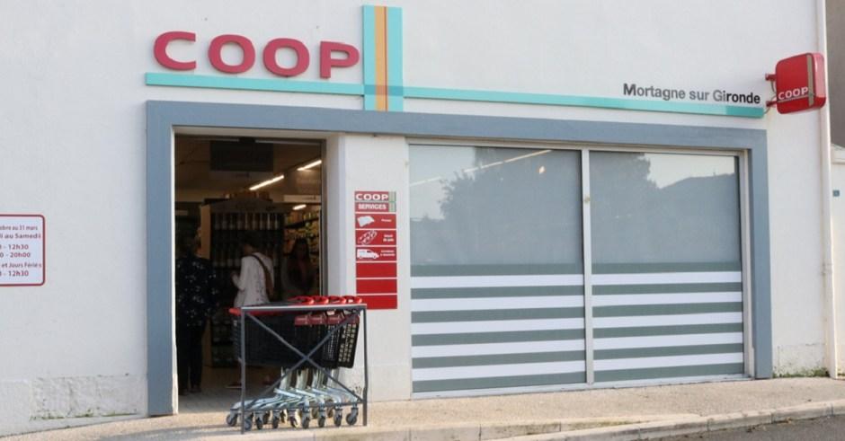 Réouverture du magasin Coop Mortagne-sur-Gironde !