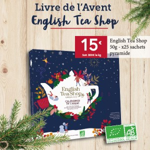 Livre de l'avent English Tea Shop