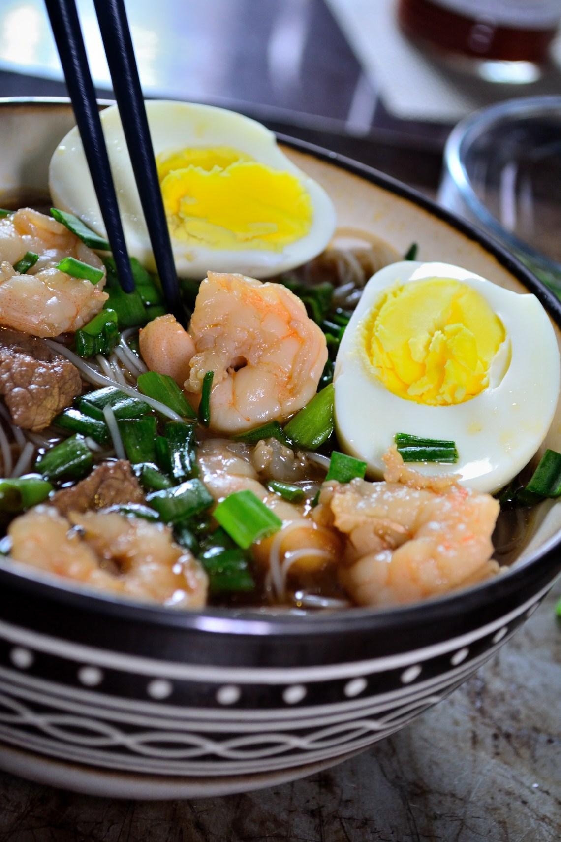 shrimp yaka mein recipe  dandk organizer
